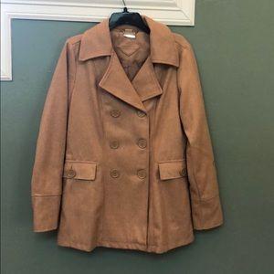 New without tags joujou pea coat size medium.